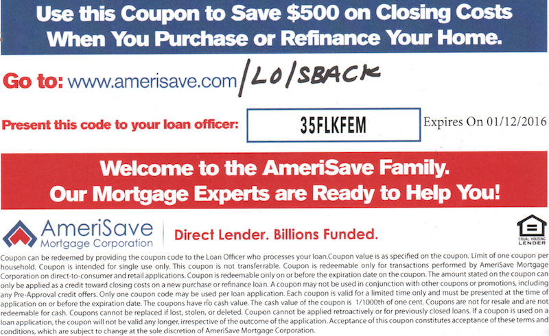 Save $500 on your home purchase or refinance