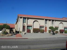 Lake Havasu City AZ Condo/Townhouse Sold: $118,500