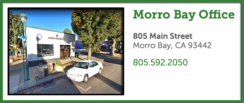 Morro Bay Real Estate Office - Real Estate Services