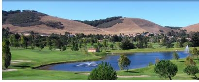 San Luis Obispo Country Club Estates and golf course