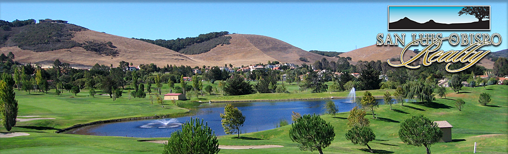 San Luis Obispo Country Club Estates and golf course