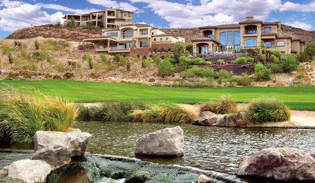 Macdonald ranch luxury homes henderson real estate for Executive ranch homes
