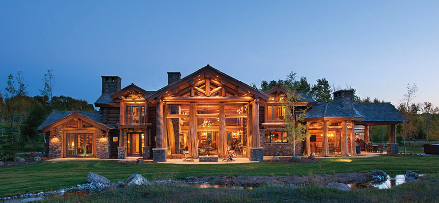 Montana Log Homes For Sale Berkshire Hathaway Mt John Cole 406