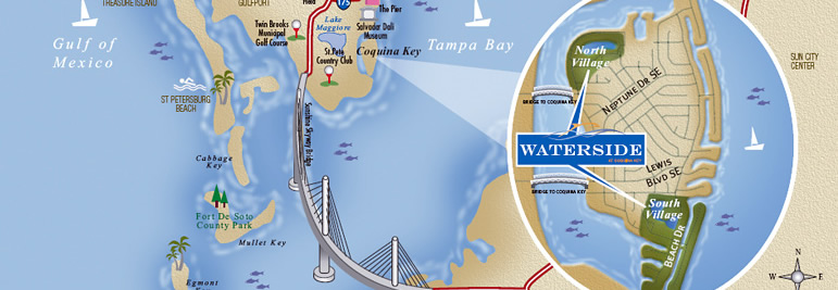 WATERSIDE AT COQUINA KEY | Market Insights Realty LLC (727
