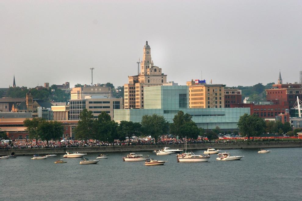 Davenport IA Riverfront