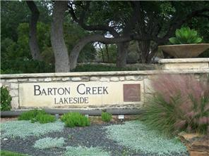 Barton Creek Lakeside homes for sale