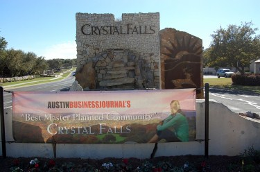 Homes for sale in Crystal Falls golf course community in Leander