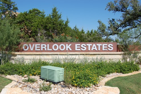 Overlook Estates Austin homes for sale