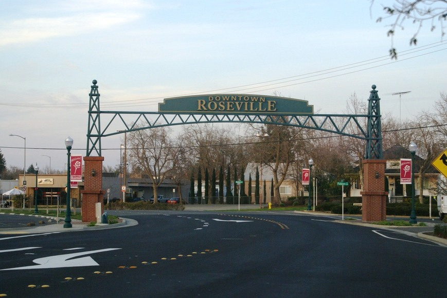 Downtown Roseville ca