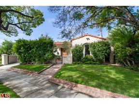 Los Angeles CA Single Family Home Sold: $1,399,500