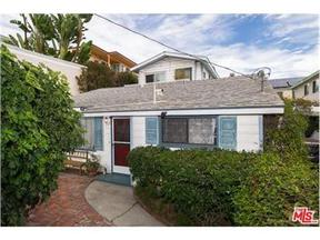 Santa Monica CA Single Family Home Sold: $1,250,000