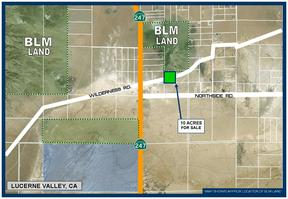 Lucerne Valley CA Residential Lots & Land For Sale: $13,000