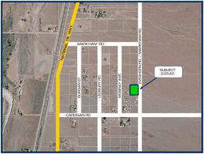 Oro Grande CA Residential Lots & Land For Sale: $14,950