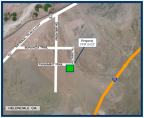 Residential Lots & Land For Sale: 40 Acres on Panamint Trail