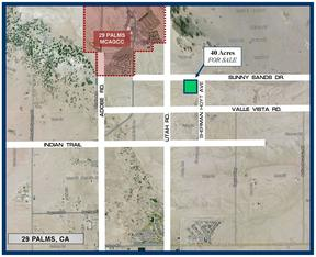 29 Palms CA Residential Lots & Land For Sale: $41,940