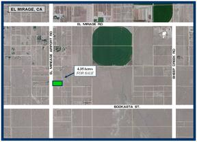 Residential Lots & Land Sale Pending: 18725 El Mirage Airport Rd. (w/Well)