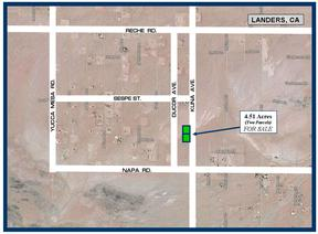 Landers CA Residential Lots & Land For Sale: $6,950