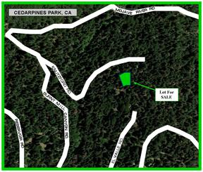 Cedarpines Park CA Residential Lots & Land For Sale: $4,950