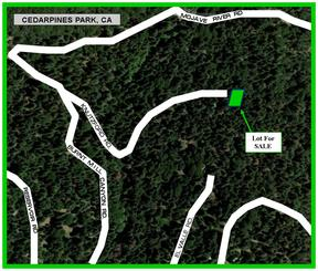 Cedarpines Park CA Residential Lots & Land For Sale: $11,950