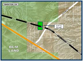 Barstow CA Residential Lots & Land For Sale: $12,950