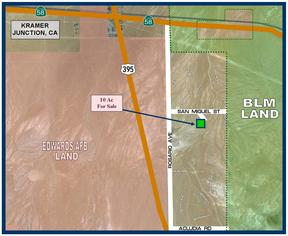 Kramer Junction CA Residential Lots & Land For Sale: $7,950