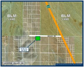 Lucerne Valley CA Residential Lots & Land For Sale: $44,995