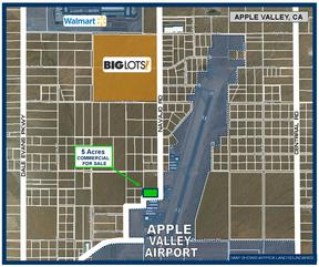 Commercial Lots & Land For Sale: 5 Ac on Navajo Rd.