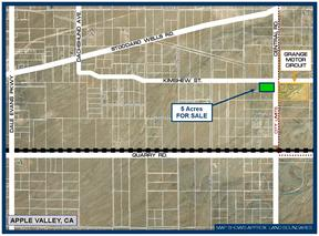 Apple Valley CA Residential Lots & Land For Sale: $24,950
