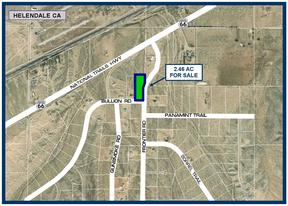 Helendale CA Residential Lots & Land For Sale: $27,500
