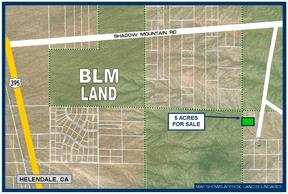Helendale CA Residential Lots & Land For Sale: $7,950