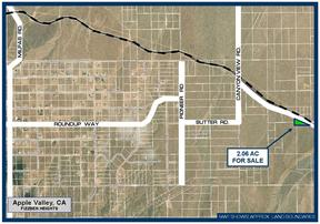 Apple Valley CA Residential Lots & Land For Sale: $9,600