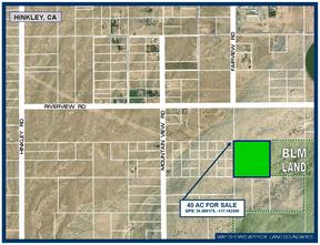 Hinkley CA Residential Lots & Land For Sale: $29,950