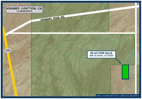 Residential Lots & Land For Sale: 80 Acres South of Freemont Peak Rd