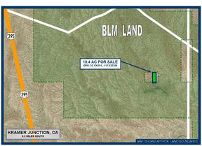 Kramer Junction CA Residential Lots & Land For Sale: $5,900