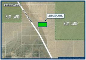 Lockhart CA Residential Lots & Land For Sale: $5,950