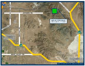 Residential Lots & Land For Sale: 640 Acres on Sidewinder Mtn