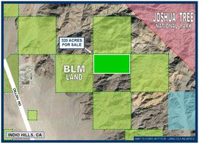 Residential Lots & Land Fo Sale: 320 Acres Near Berdoo Canyon Rd.