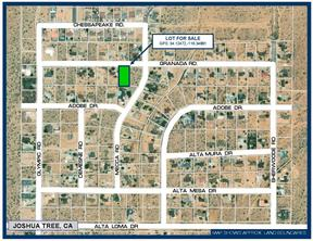 Joshua Tree CA Residential Lots & Land For Sale: $17,500
