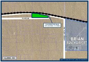 Residential Lots & Land For Sale: 10 Ac on E Ave U8