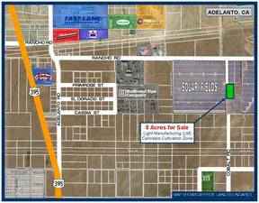 Commercial Lots & Land For Sale: 5 Ac on Cobalt Rd.