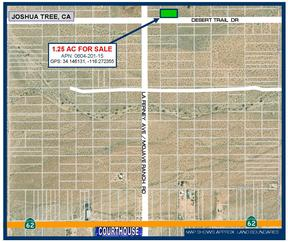Joshua Tree CA Residential Lots & Land For Sale: $9,388