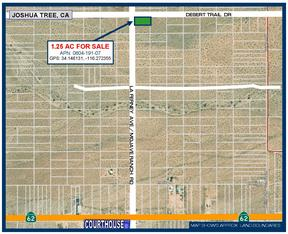 Joshua Tree CA Residential Lots & Land For Sale: $9,888