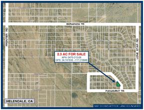Helendale CA Residential Lots & Land For Sale: $5,400