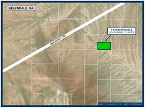 Helendale CA Residential Lots & Land For Sale: $5,500