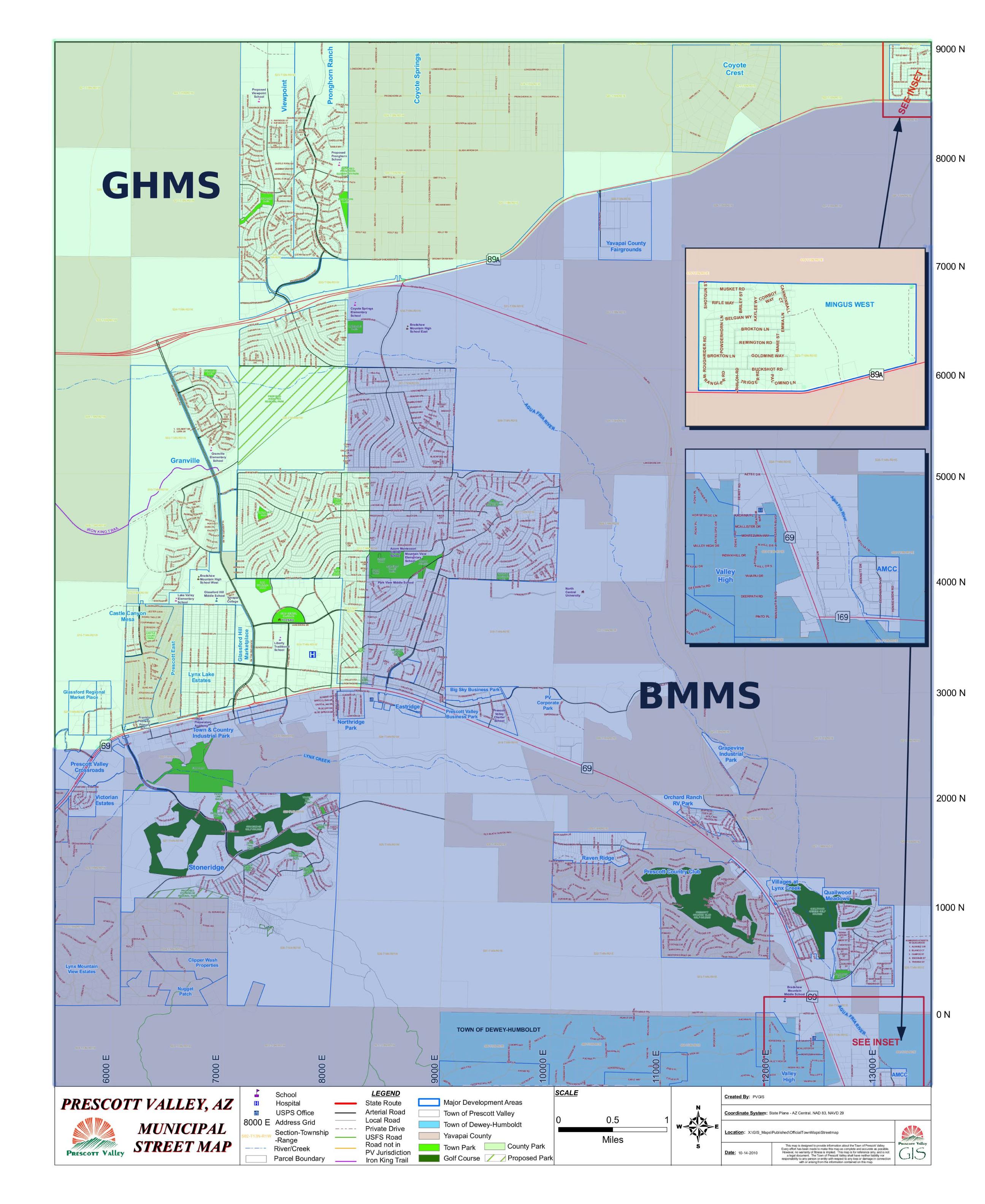 Humboldt Middle School Map Boundaries