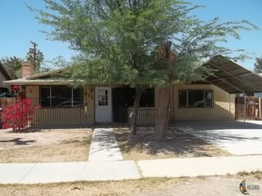 El Centro CA Residential Sale Pending: $109,900