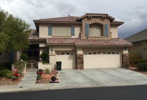 Las Vegas NV Single Family Home Sold: $562,500
