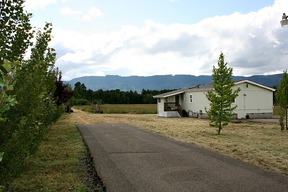 Camas Valley OR Mobile Home Sold: $219,000