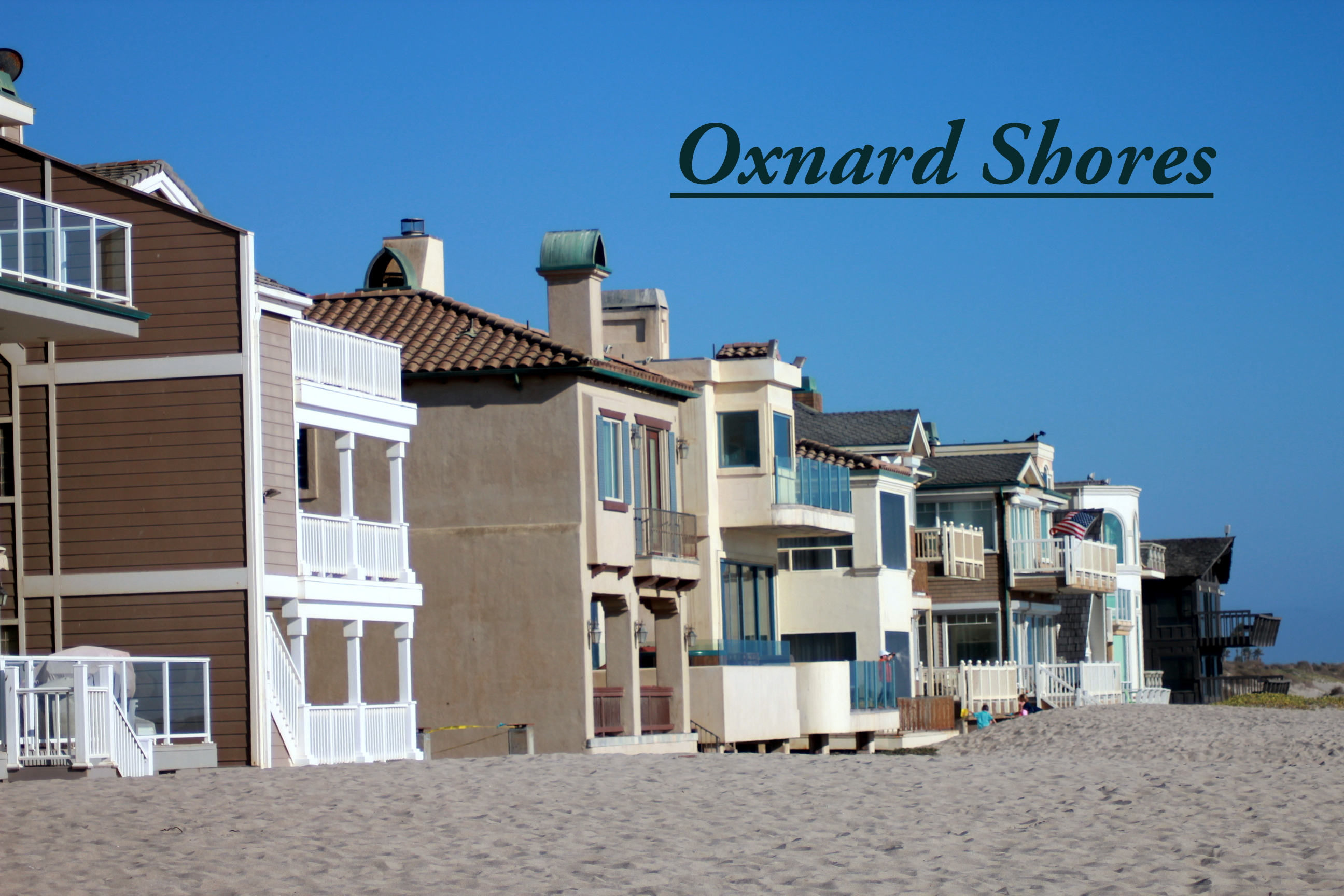 Oxnard California Beach Homes For Sale