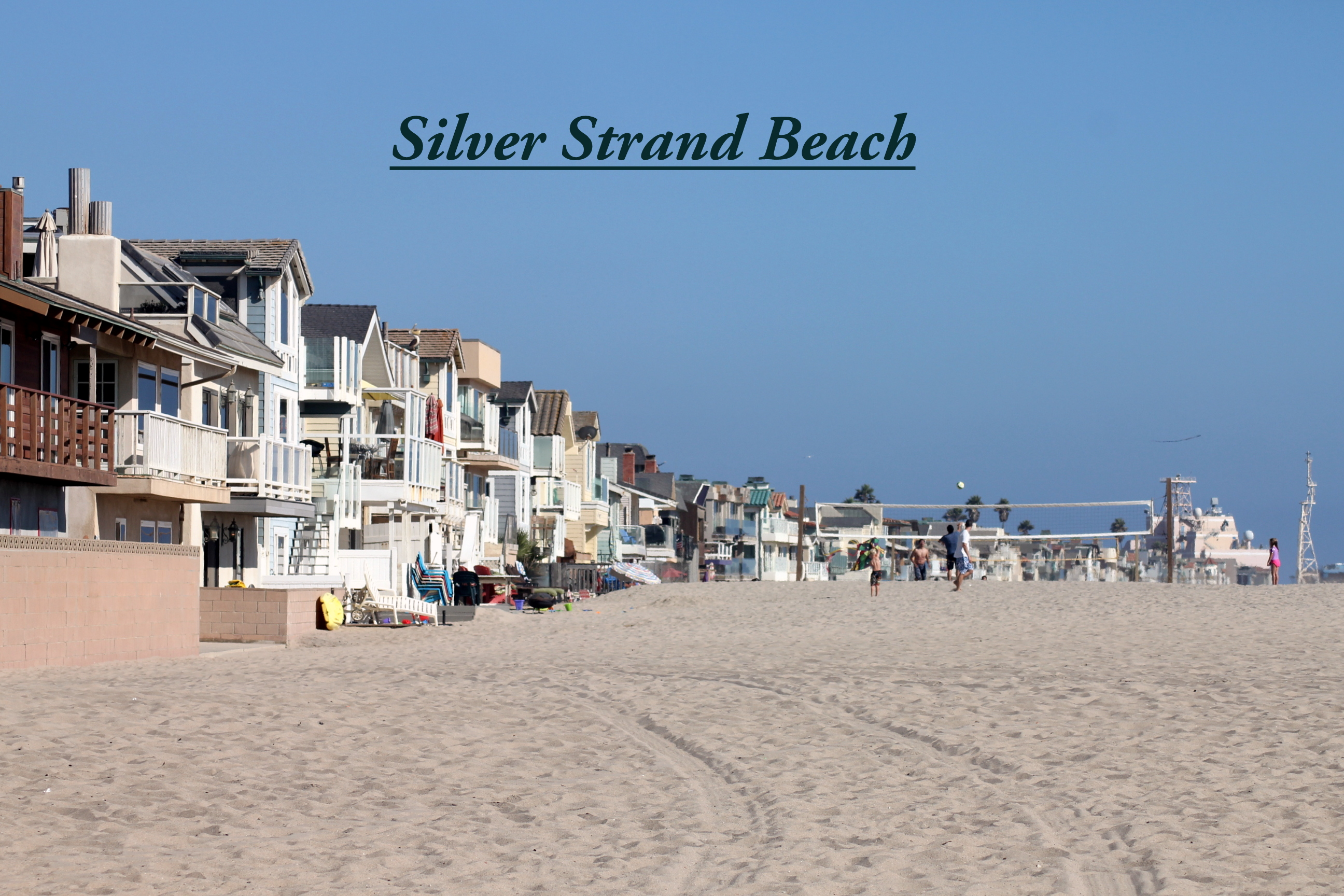 Click On The Neighborhood You Prefer Silver Strand Beach
